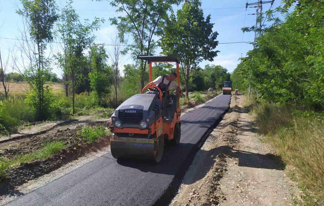 Изградња бициклистичке стазе на обали Бегеја
